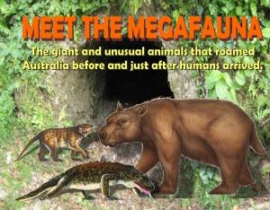 Meet the megafauna cover front