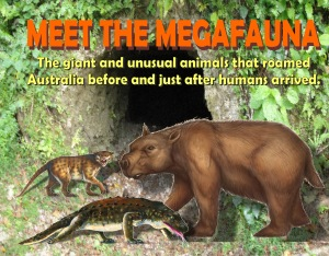 Meet the megafauna cover front